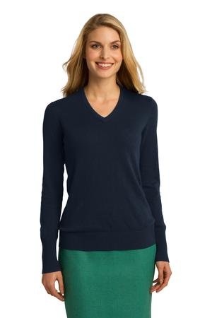 Port Authority® LSW285 - Ladies V-Neck Sweater