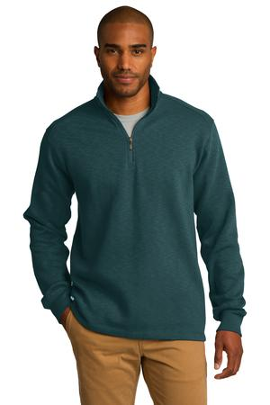 Port Authority® F295 - Slub Fleece 1/4-Zip Pullover