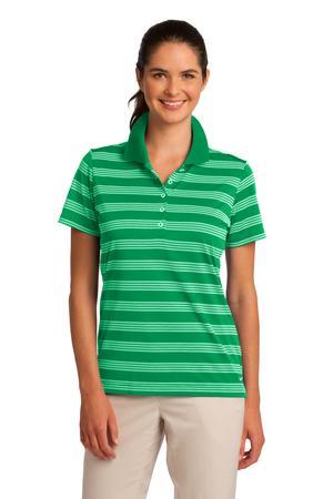 Nike Golf Ladies Dri-FIT Tech Stripe Polo. 578678