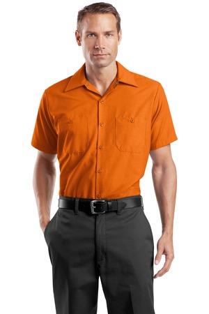 2942e3720f Red Kap Long Size Short Sleeve Industrial Work Shirt. SP24LONG ...