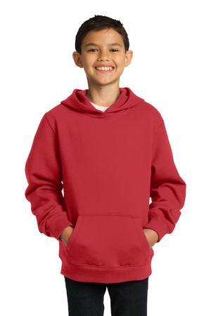 Sport-Tek Youth Pullover Hooded Sweatshirt. YST254