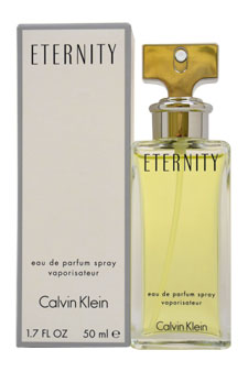 Calvin Klein Eternity EDP Spray For Women 1.7 oz. & 3.4 oz.