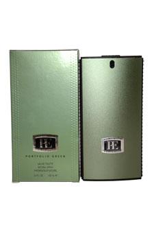 Perry Ellis Portfolio Green EDT Spray For Men 3.4 oz....