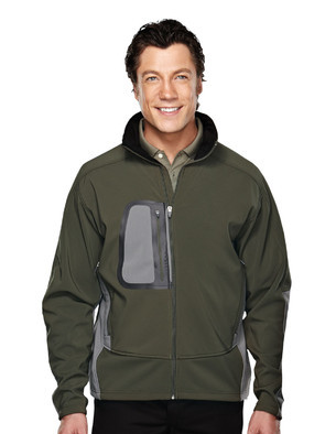 Tri-Mountain 6450 男士防风防水全拉链运动休闲外套