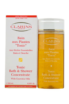 Clarins Tonic Shower Bath Concentrate For Unisex 6.7 ...