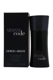 Giorgio Armani Armani Code EDT Spray For Men 1.7 oz....