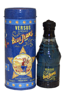 Versace Versus Blue Jeans EDT Spray For Men 2.5 oz.