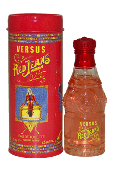 Versace Versus Red Jeans EDT Spray For Women 2.5 oz....