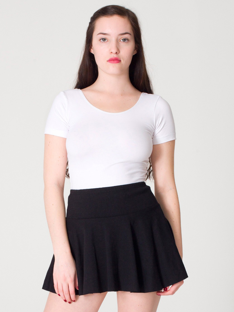 American Apparel 1303 - Thick-Knit Jersey Skirt