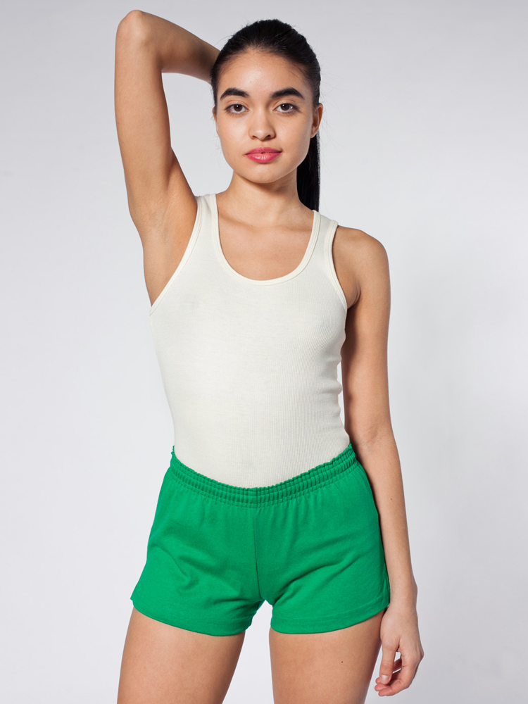 American Apparel 1401 - Thick-Knit Jersey P.E. Short