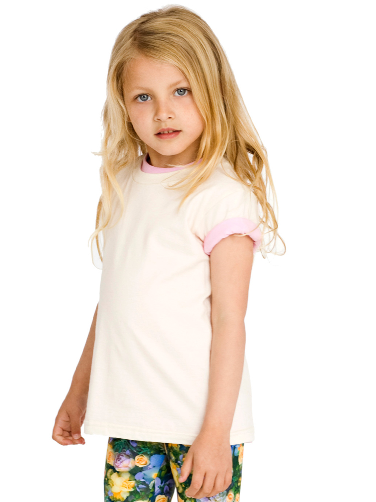 American Apparel 2105ORG - Kids Organic Fine Jersey ...