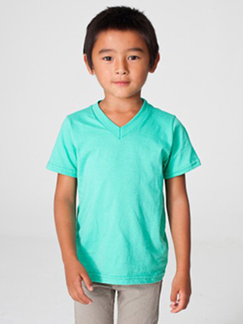 American Apparel 2156 - Toddler V-Neck Tee