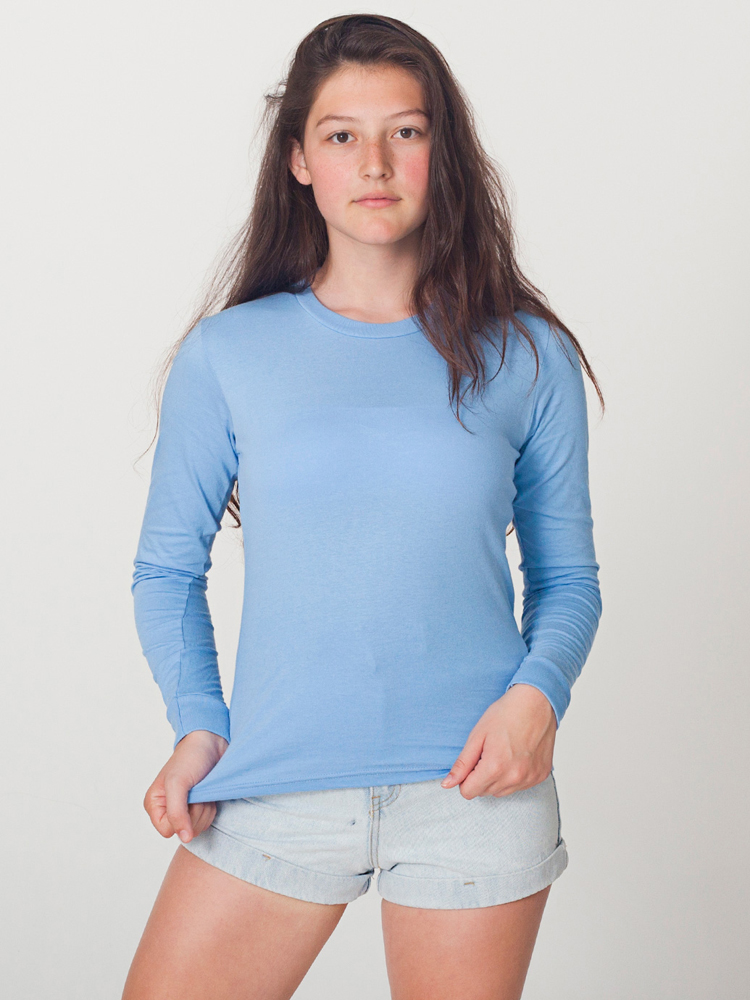 American Apparel 2307 - Fine Jersey Long Sleeve Tee