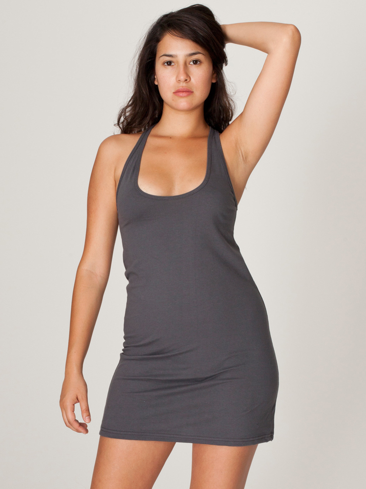 American Apparel 2335 - Racerback Tank Dress