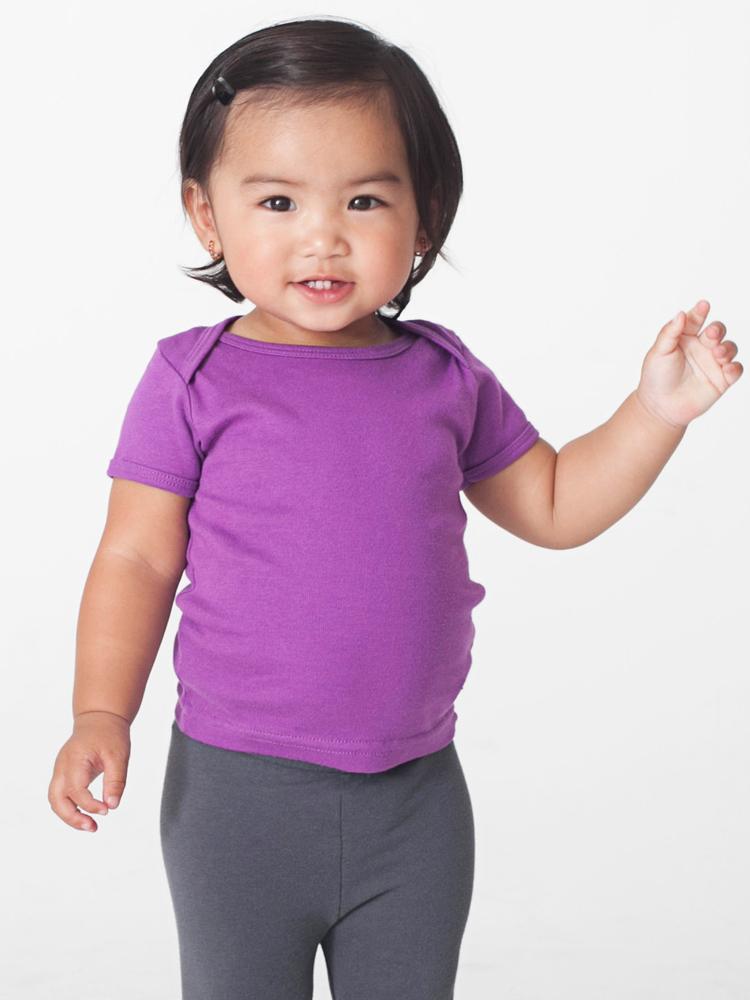 American Apparel 4000ORG - Infant Organic Baby Rib S/...