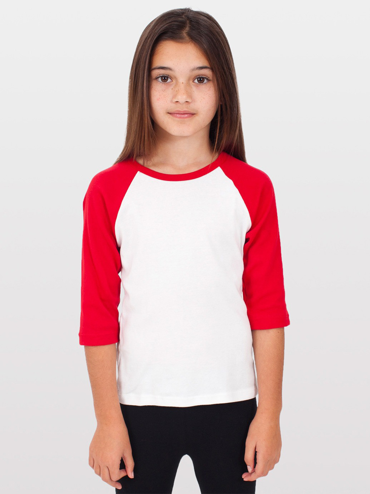 American Apparel 4153 - Kids' Raglan