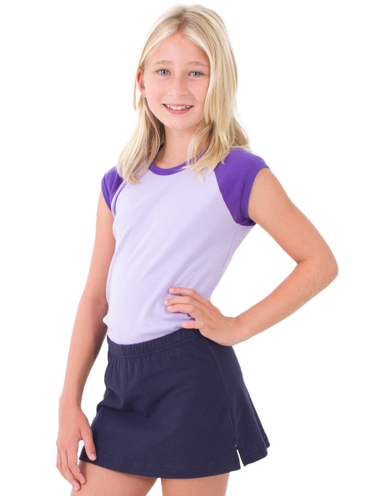 American Apparel 4277 - Young Cap Sleeve Raglan
