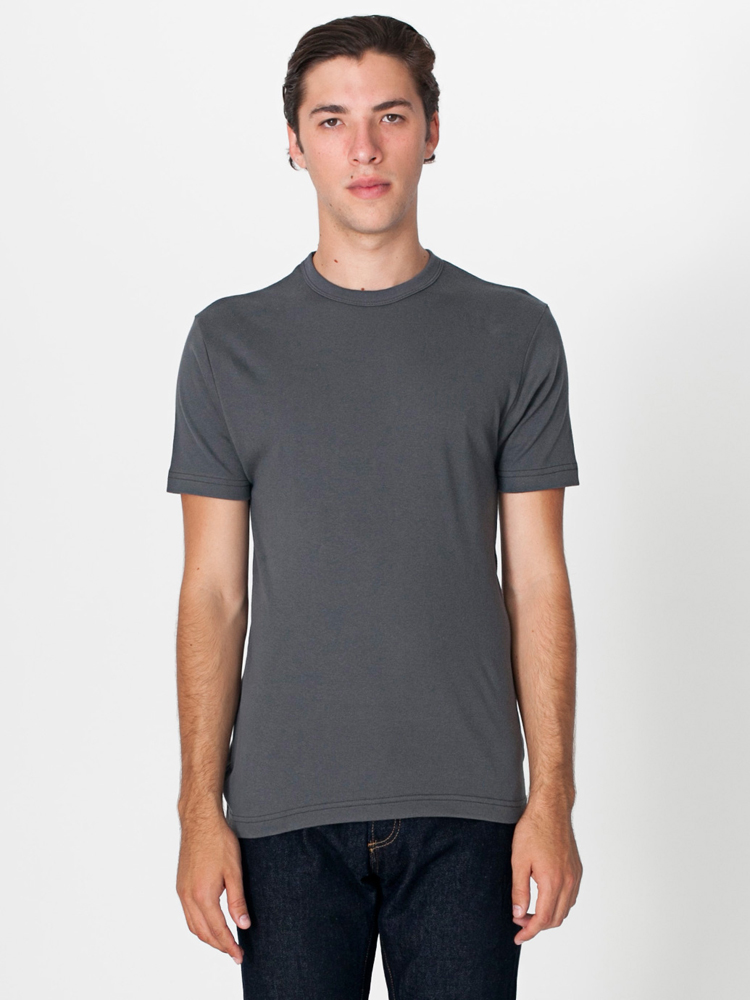 American Apparel 4400 - Unisex Baby Rib Fitted Tee