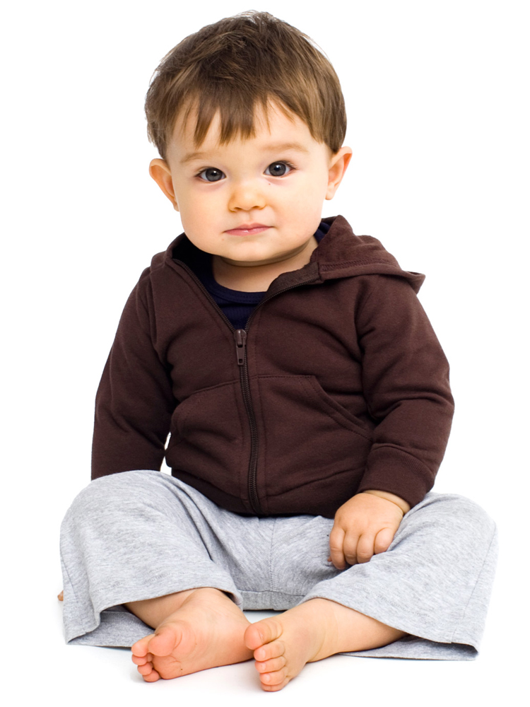 American Apparel 5097 - Infant Fleece Zip-Up Hoody