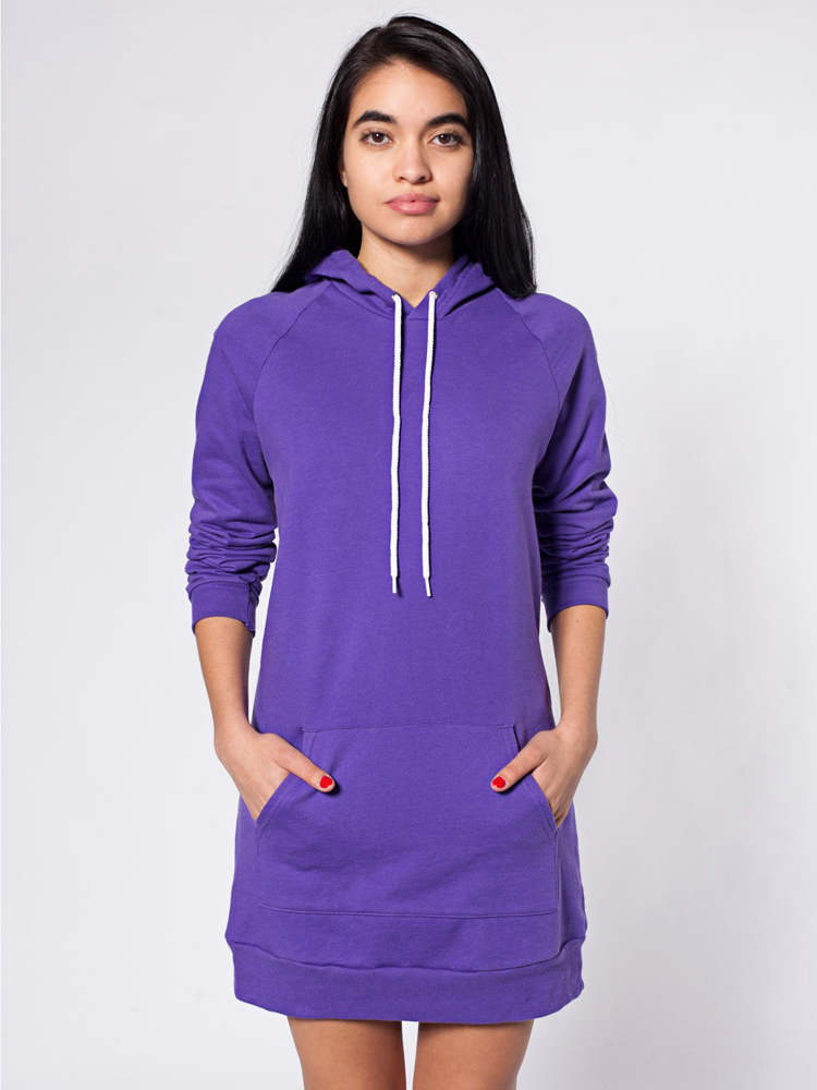 American Apparel 5398 - California Fleece Raglan Hoody ...