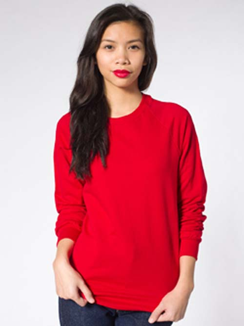 American Apparel 5454 - California Fleece Raglan