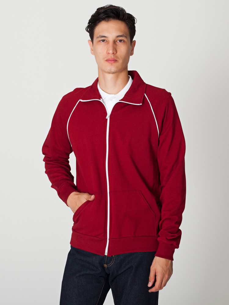 American Apparel 5455 - California Fleece Track Jacket