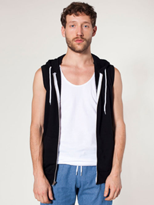 American Apparel 5496 - Unisex California Fleece Sleeveless ...