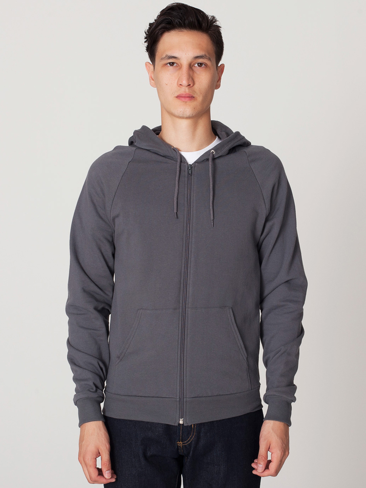 American Apparel 5497 - California Fleece Full Zip Hoody