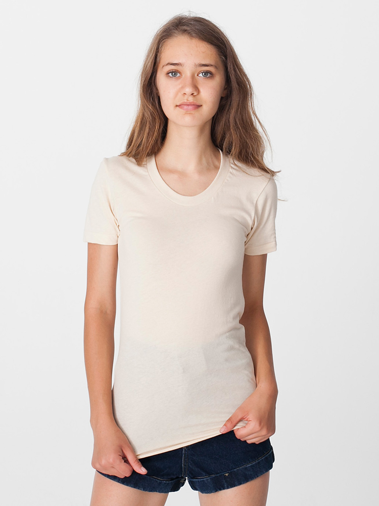 American Apparel 6301 - Ladies Sheer Jersey Summer Tee