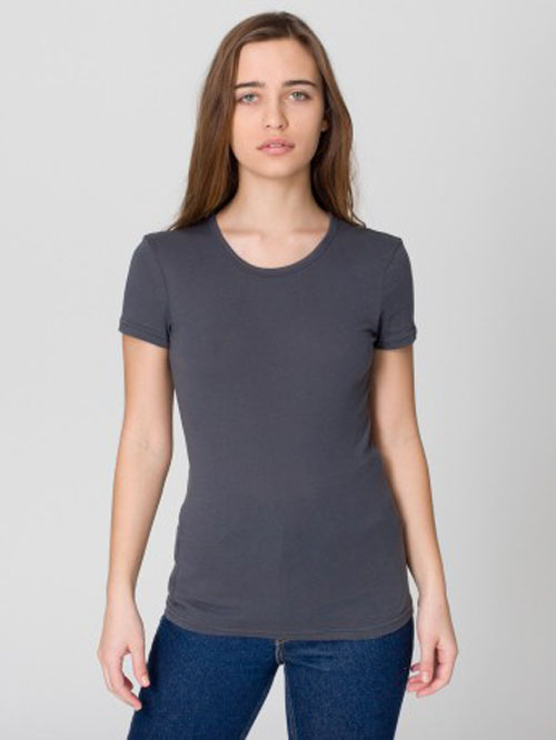American Apparel 6321 - Sheer Jersey Cap Sleeve