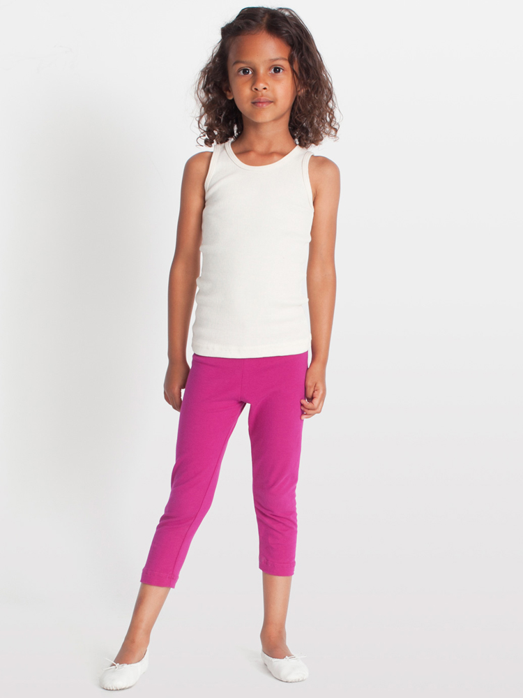 American Apparel 8128 - Kids Cotton Spandex Jersey Legging