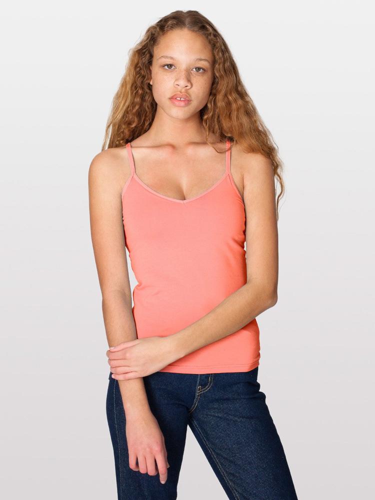 American Apparel 8320 - Cotton Spandex Jersey Cami Bra