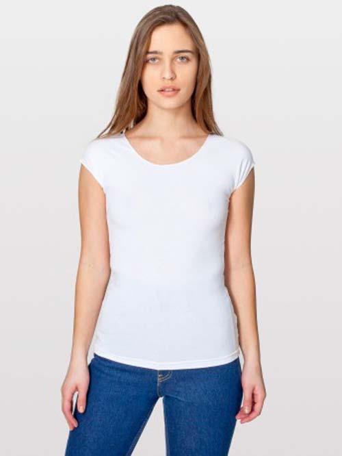 American Apparel 8362 - Cotton Spandex Jersey Aerobic ...