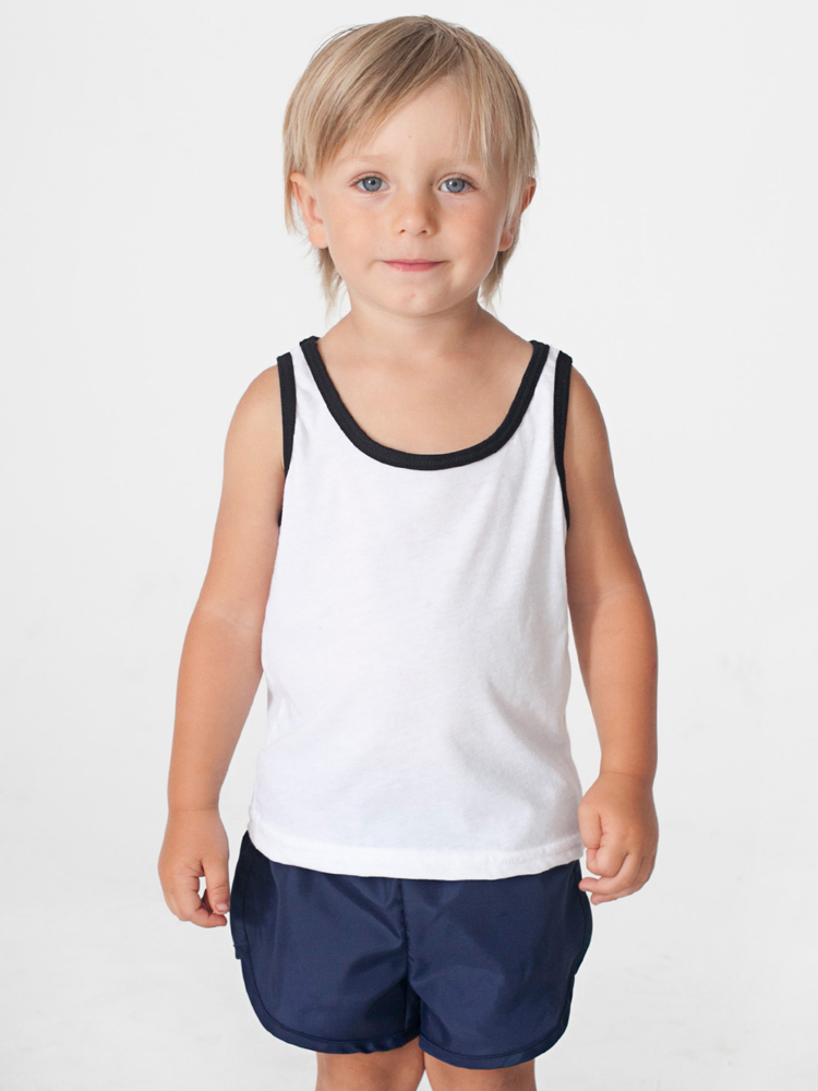 American Apparel BB108 - Toddler Poly Cotton Tank