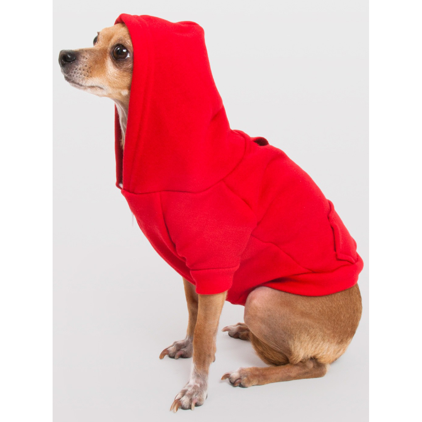 American Apparel F997 - Flex Fleece Dog Zip Hoody