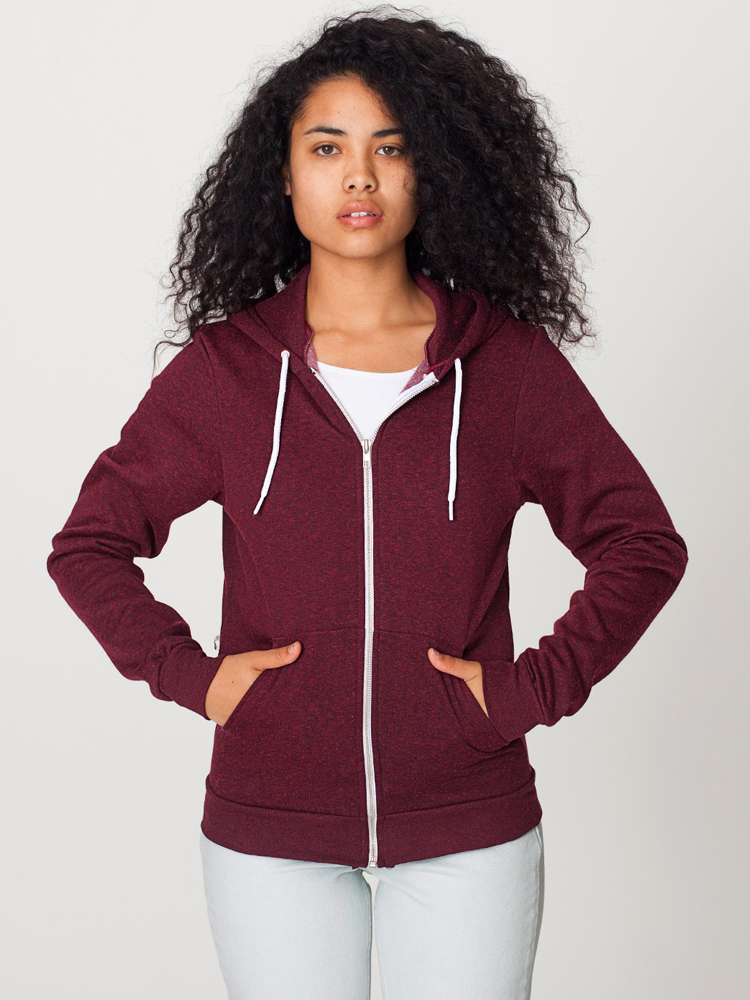 American Apparel MT497 - Unisex Flex Fleece Zip Hoody