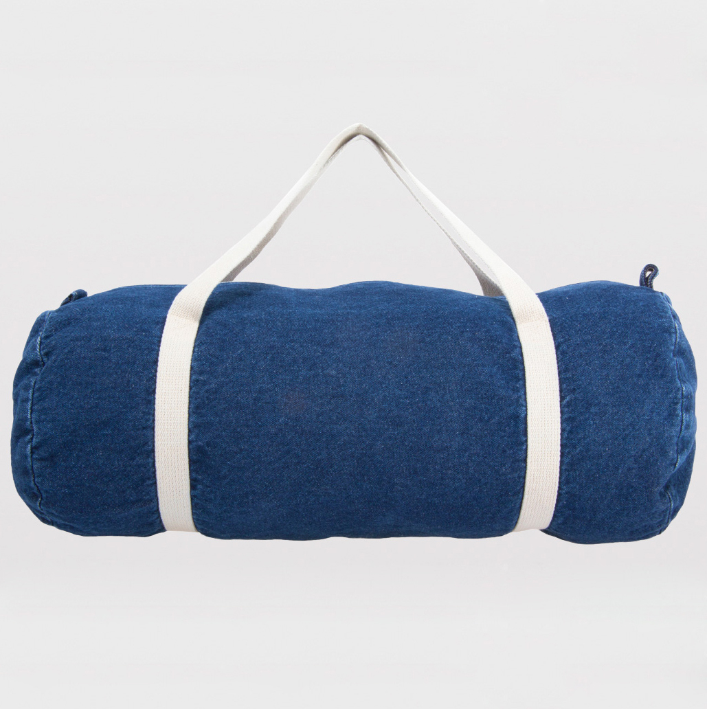 American Apparel RSA0540 - Denim Duffle Bag