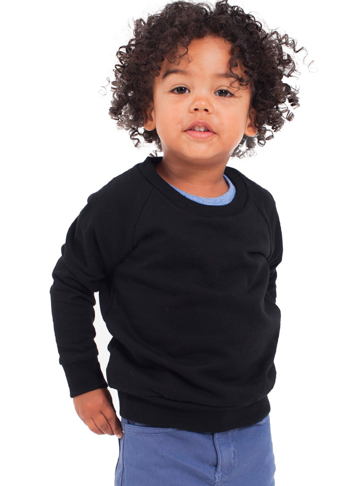 American Apparel RSA5154 - Kids California Fleece Raglan