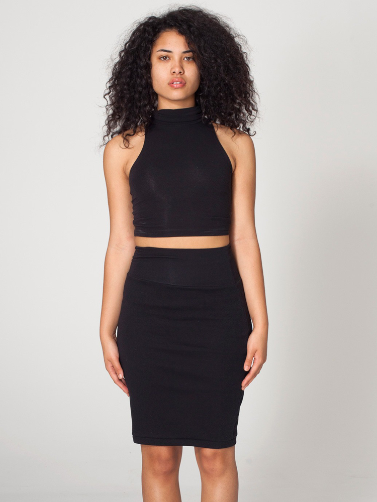 American Apparel RSA7302 - Interlock Pencil Skirt