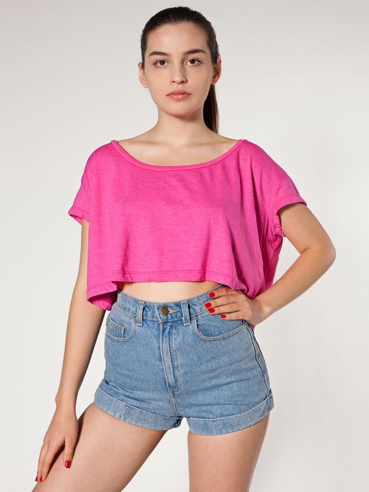 American Apparel RSABB380 - Loose Crop Tee