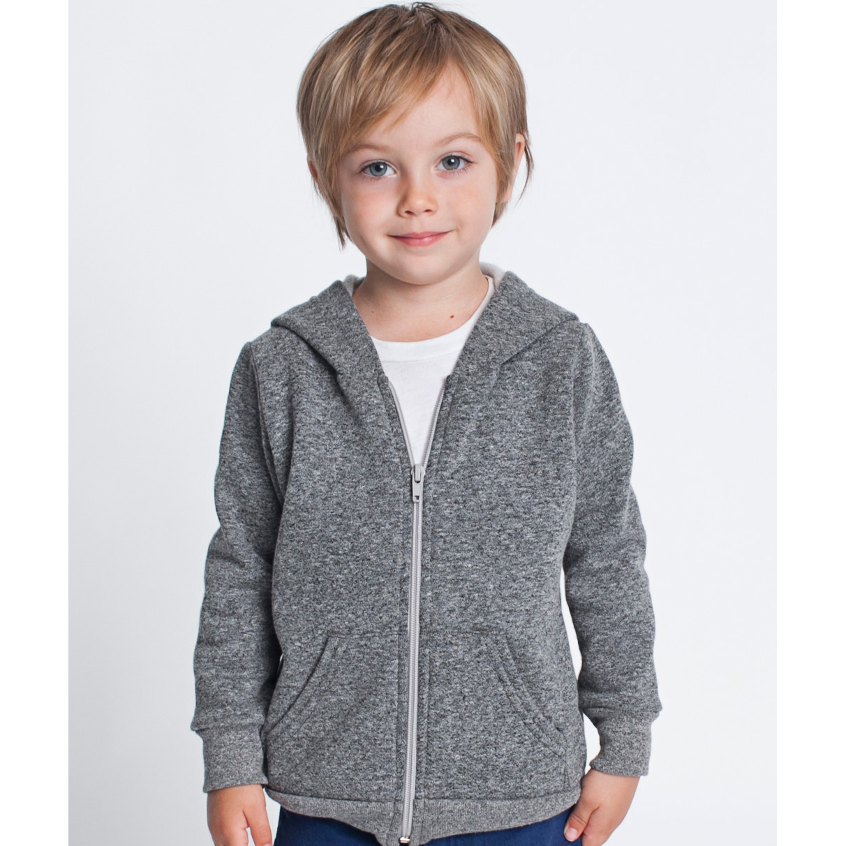 American Apparel RSAMT197 - Youth Salt & Pepper Hoody
