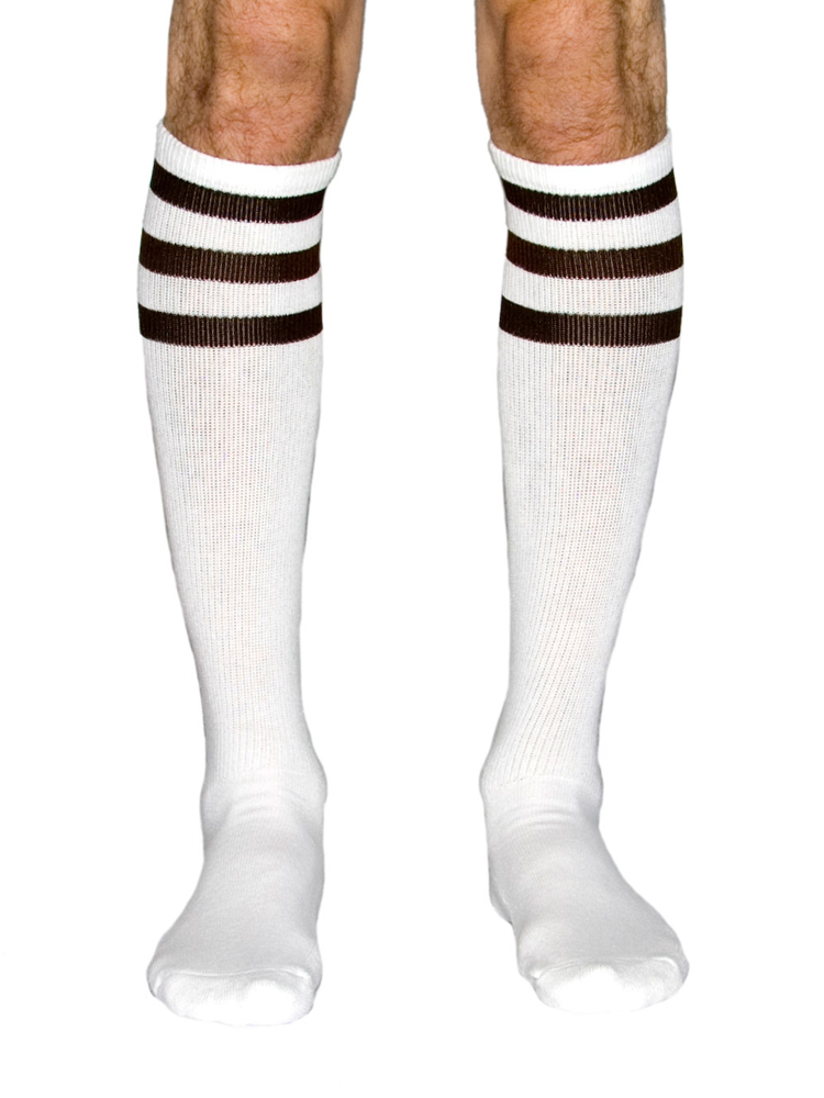 American Apparel RSASKL - Unisex Stripe Knee-High Sock