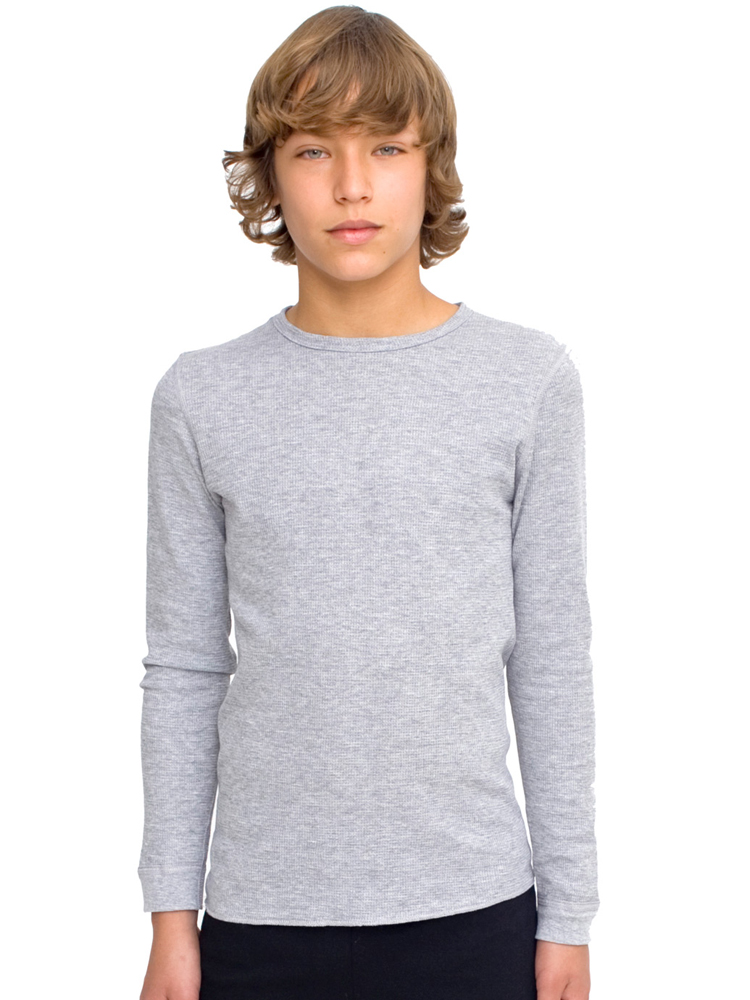 American Apparel T207 - Youth Baby Thermal Long Sleeve ...