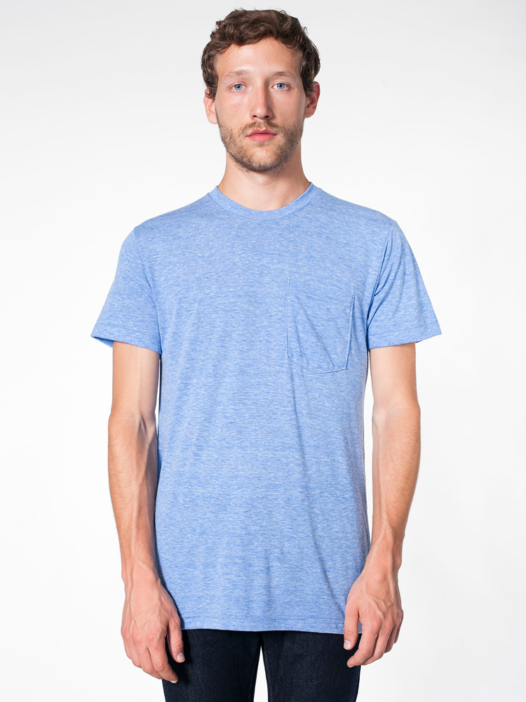 American Apparel TR406 - Unisex Tri-Blend Short Sleeve ...