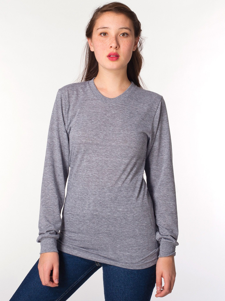 American Apparel TR407 - Tri-Blend Long Sleeve Tee