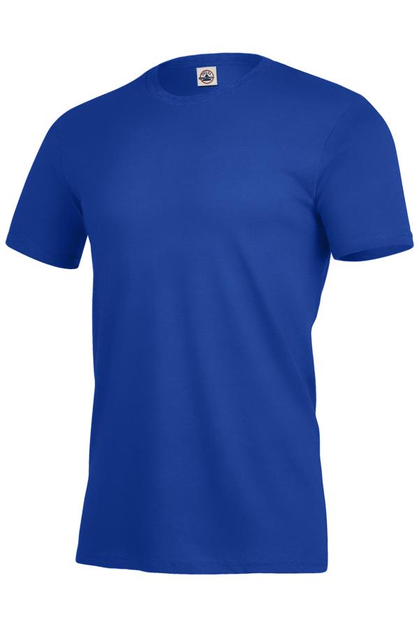 Delta Apparel 11600N 男士短袖环锭纺纱T恤