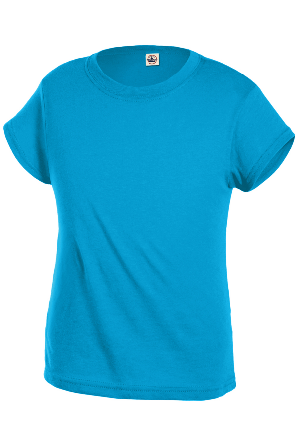 Delta Apparel 1300 - Girls Ringspun Semi-Sheer Tee 3....