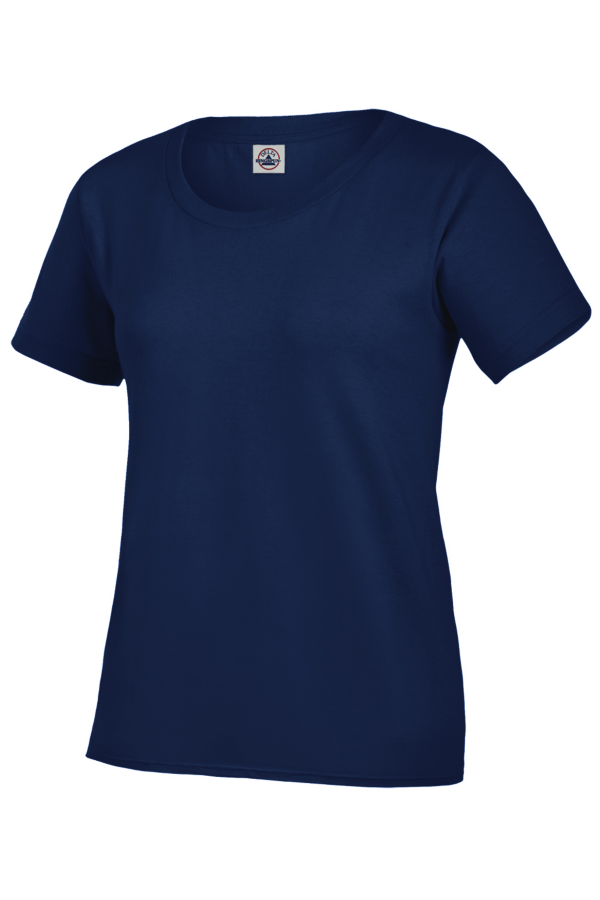 Delta Apparel 58200 - Ladies Ringspun Shirt 5.2 oz