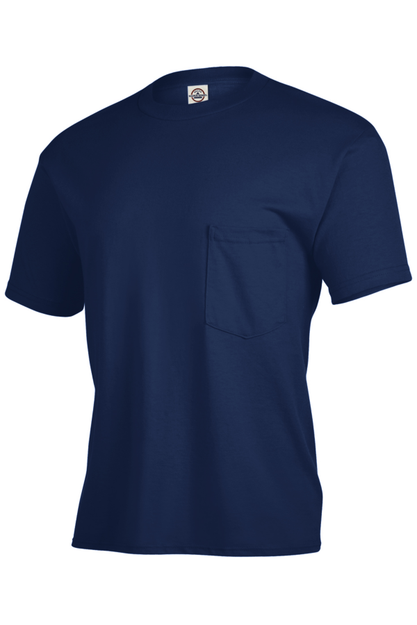 Delta Apparel 65732 - Pocket T-shirt Magnum Weight 6....
