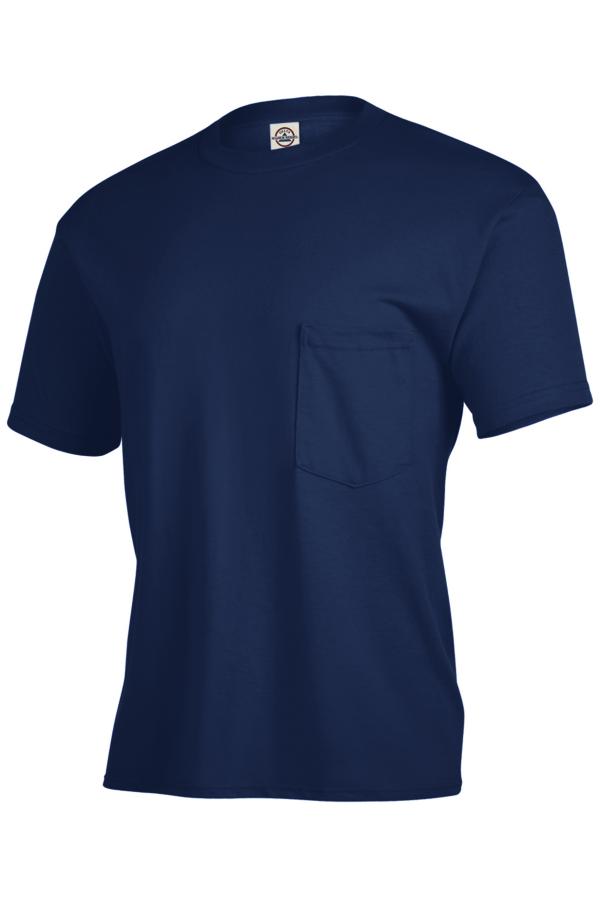 Delta Apparel 65732 - Pocket T-shirt Magnum Weight 6....
